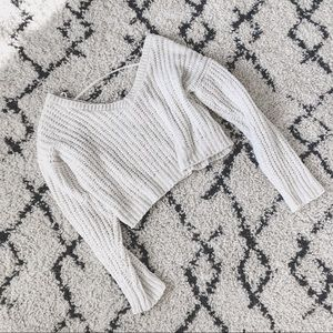 f21 • cropped sweater